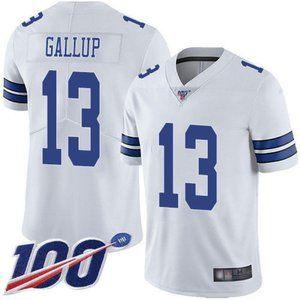 Cowboys Michael Gallup 100th Season Jersey 2